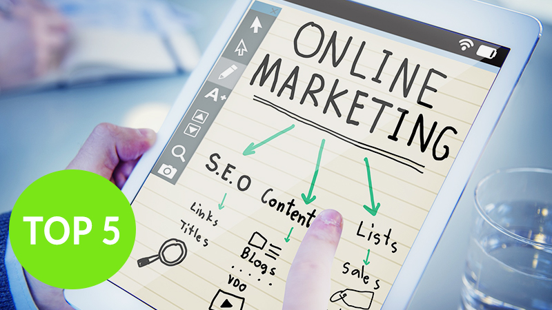 TrafficGenerator Top5 Marketingmaßnahmen in Unternehmen